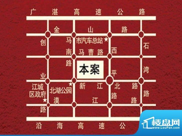 锦绣江南交通图
