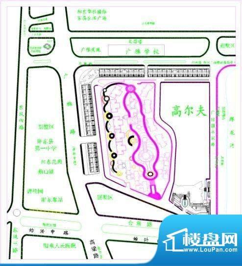 广博峰景交通图