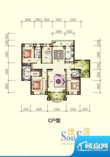 广博峰景户型图 面积:0.00m平米