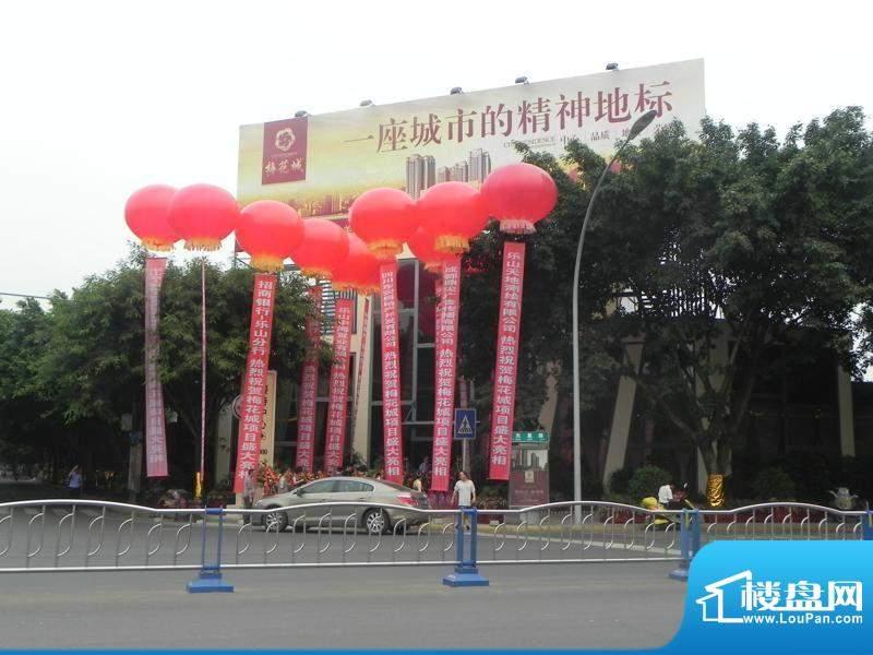 梅花城实景图