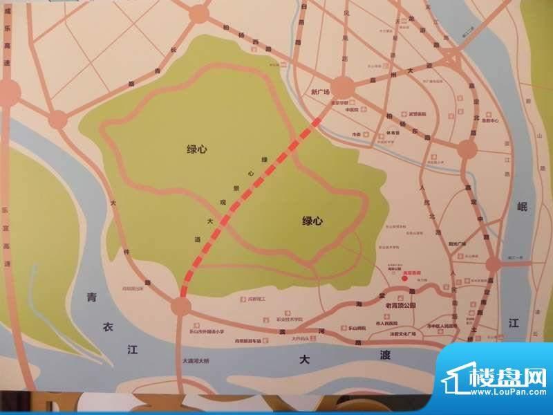 海棠香阁交通图