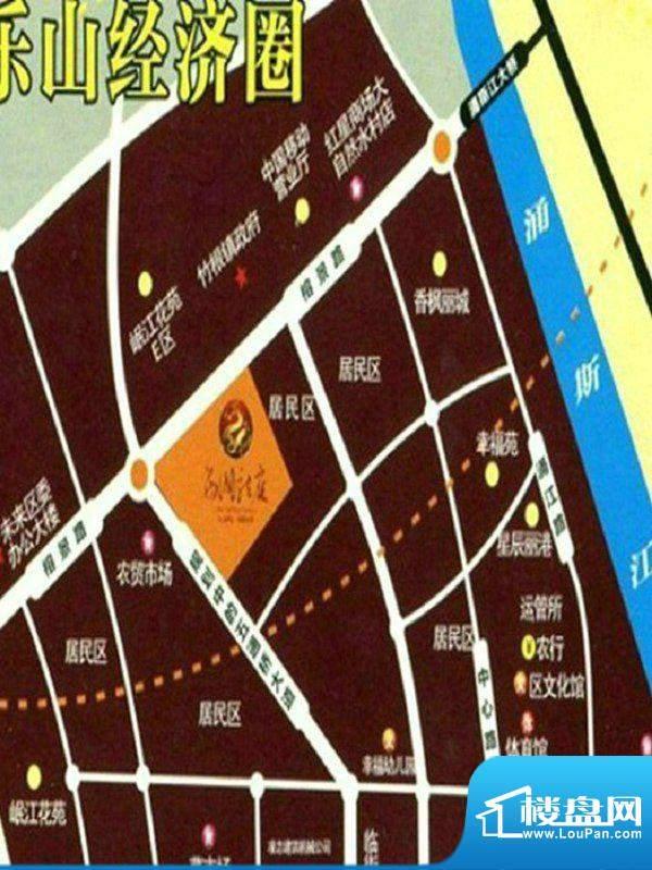 西湖龙庭交通图