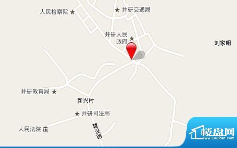 锦绣华庭交通图