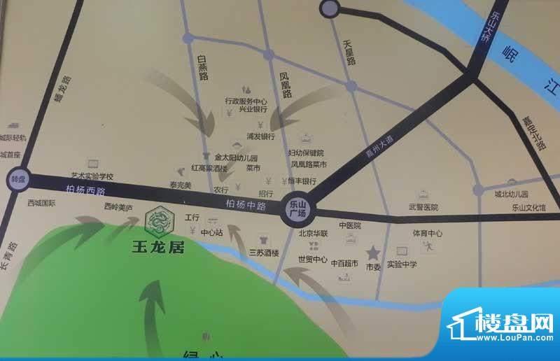 玉龙居交通图
