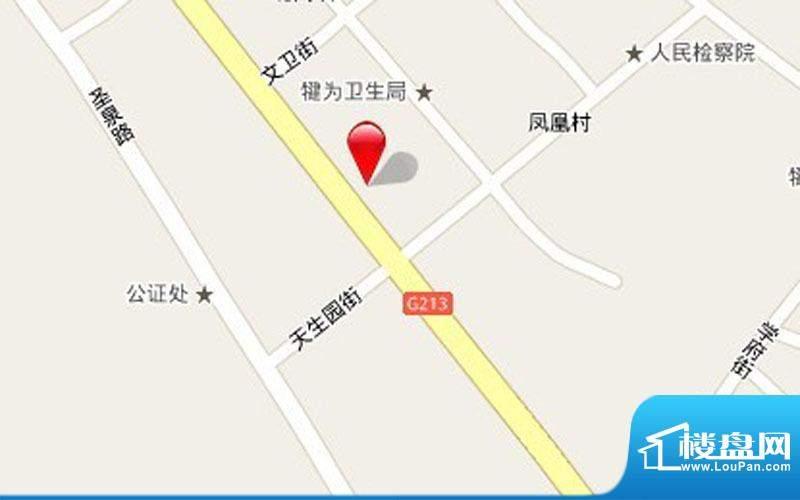百海·壹号公寓交通图