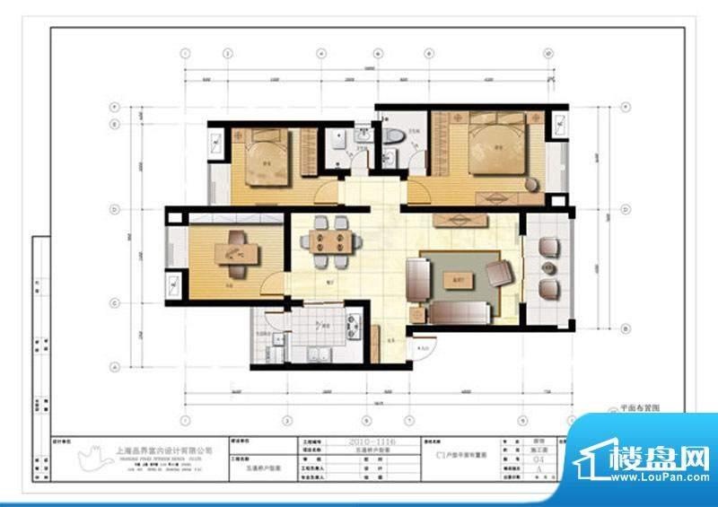 天润欧域c1型 3室2厅面积:0.00m平米