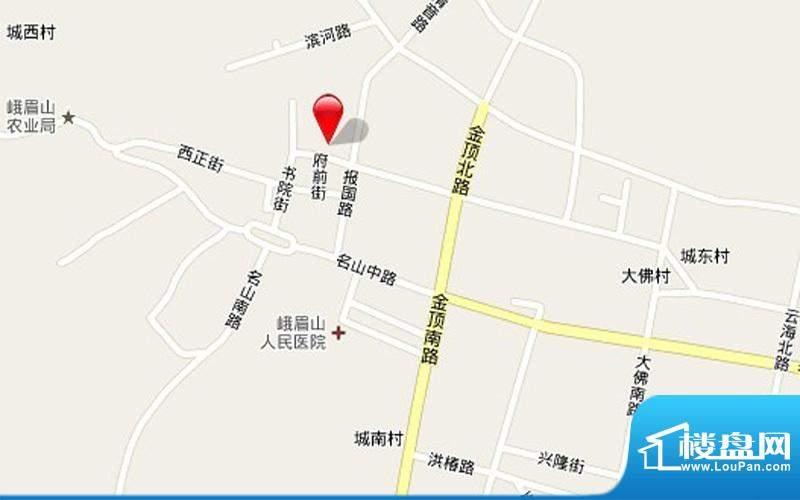 民生·雅居交通图
