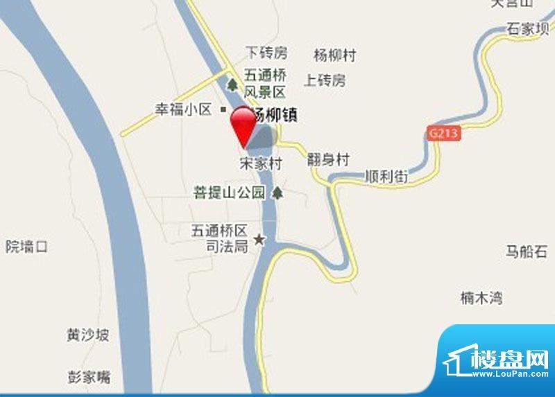 星辰丽港交通图