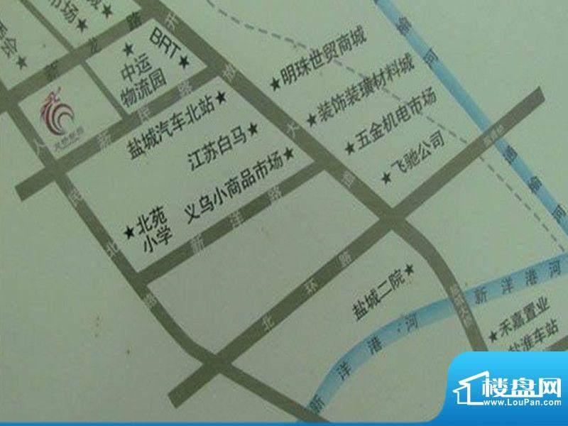 龙桥新园交通图