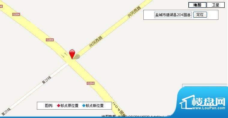 上冈新城交通图