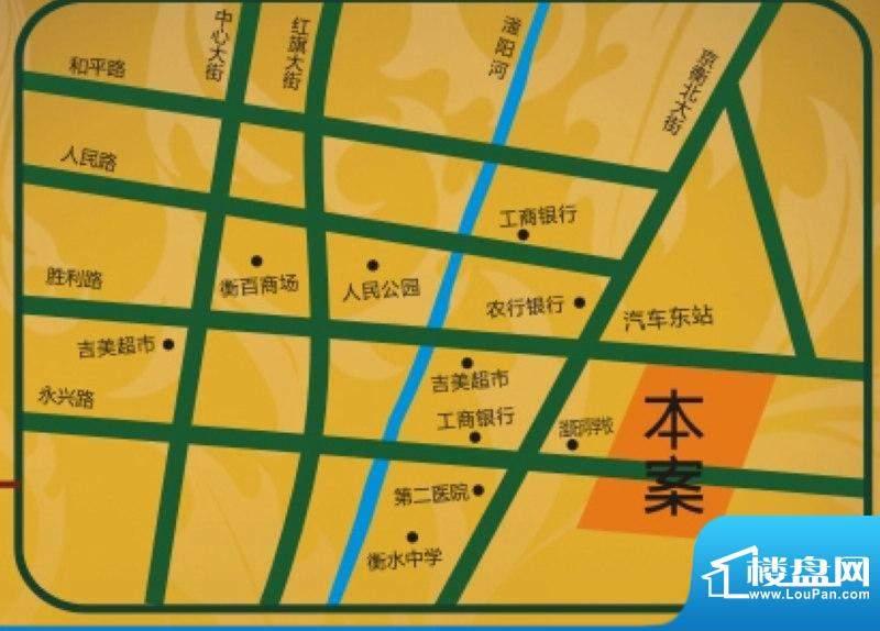 东方太阳城交通图