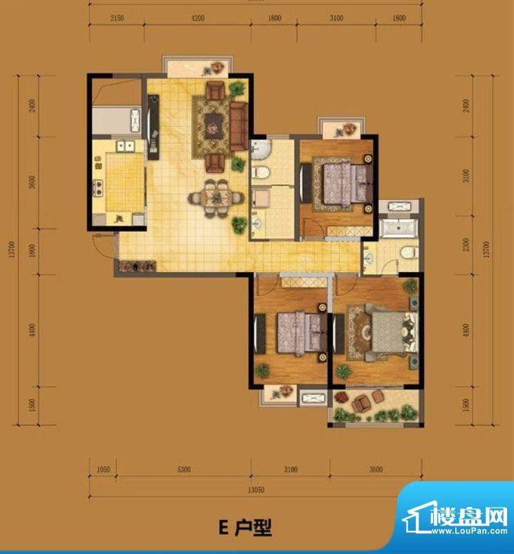 港龙华侨城一期3号楼面积:132.00m平米