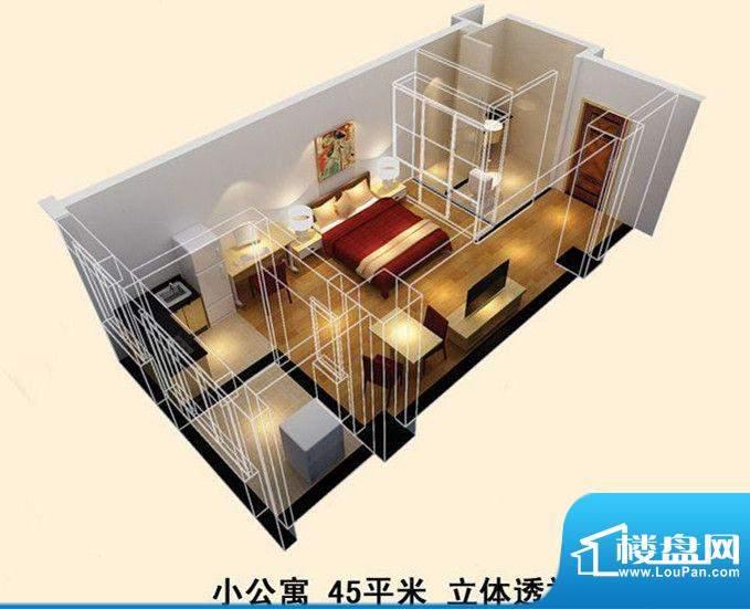 宝龙城市广场第三期面积:45.00m平米