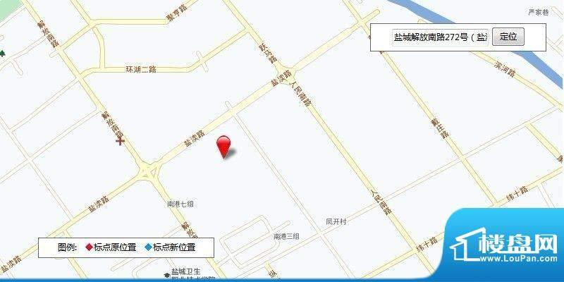 中庚·海德公园交通图