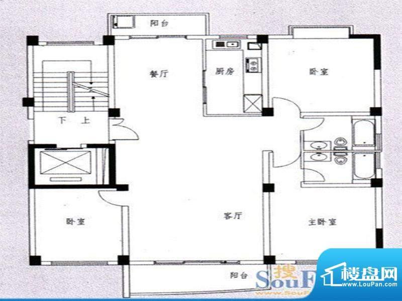 国飞尚城二期1号楼0面积:142.00m平米