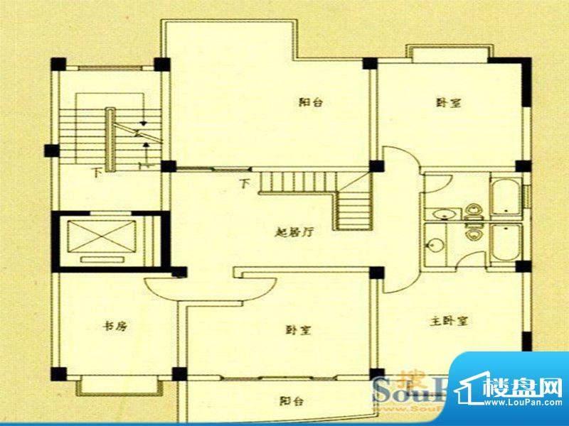 国飞尚城二期1号楼0面积:130.00m平米