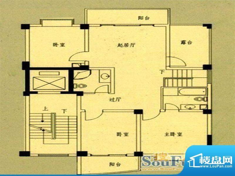 国飞尚城二期2号楼0面积:124.00m平米