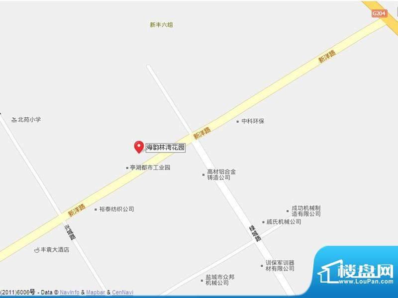 海韵林湾花园交通图
