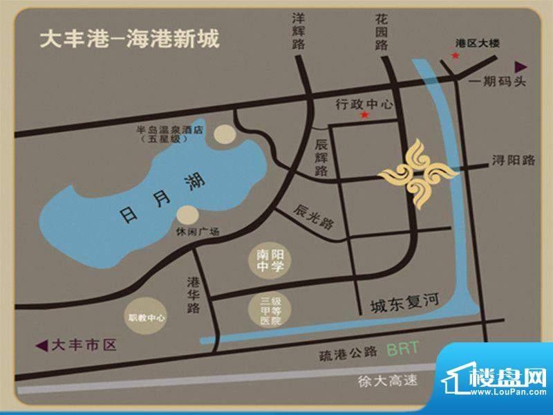 诚通国际城交通图