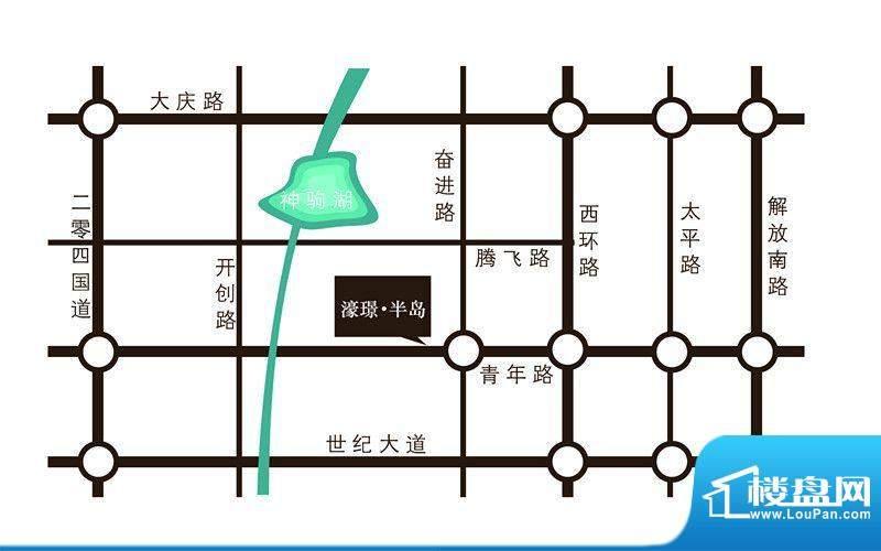 濠璟·半岛交通图