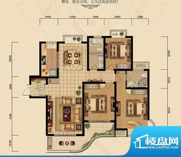 濠璟·半岛一期四栋面积:142.00m平米