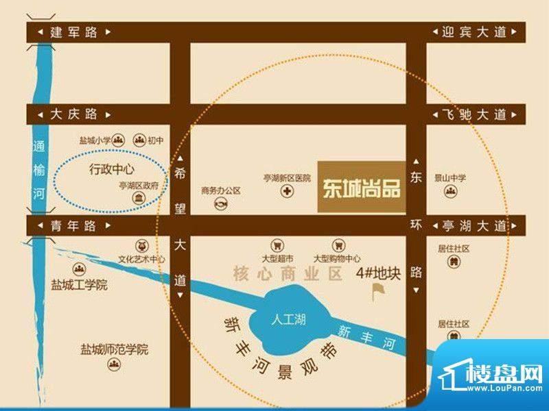 东城尚品交通图