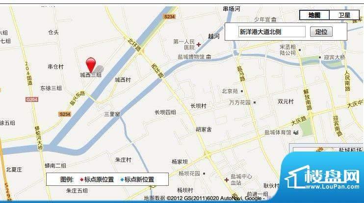 港湾明珠交通图