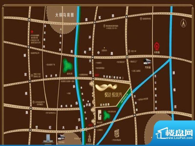 悦达·悦珑湾交通图