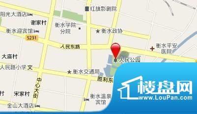碧桂園·公園壹號交通图