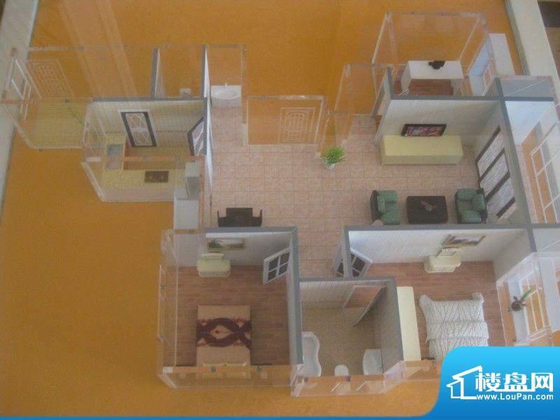 万都城两室两厅两卫面积:0.00m平米
