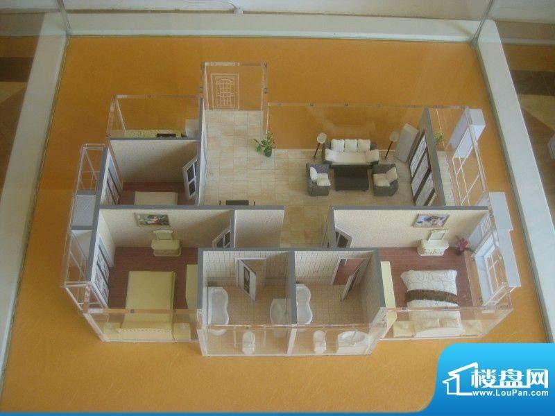 万都城三室两厅两卫面积:0.00m平米