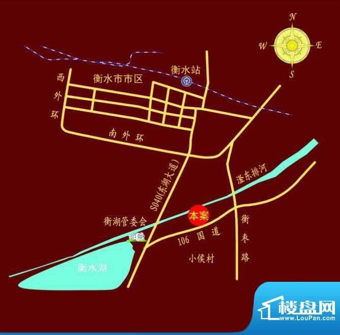 成博牧马交通图