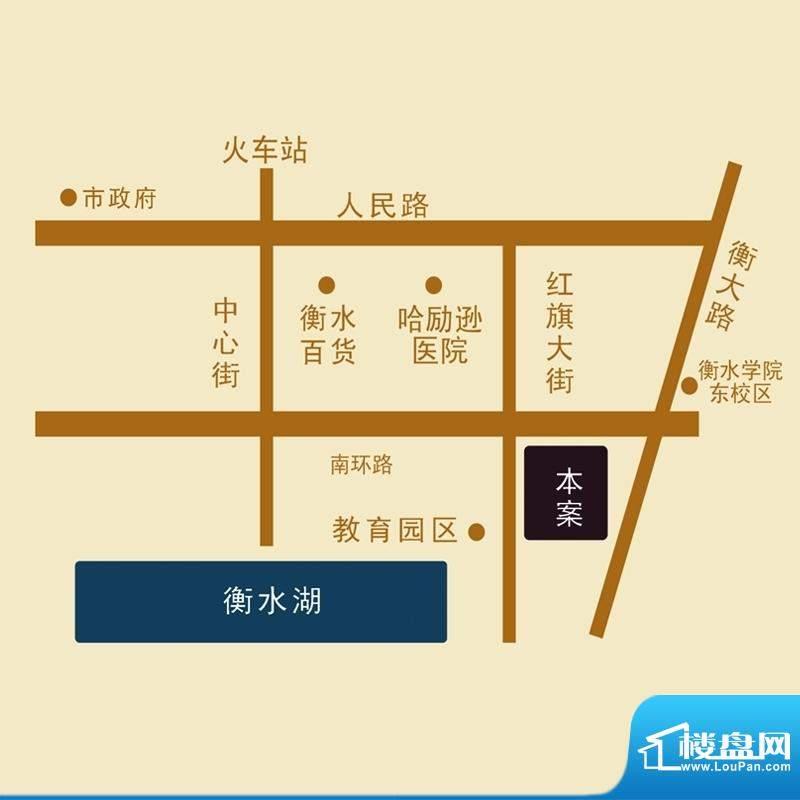滨湖国际交通图