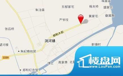 博海尚城交通图