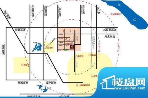 景瑞荣御蓝湾交通图