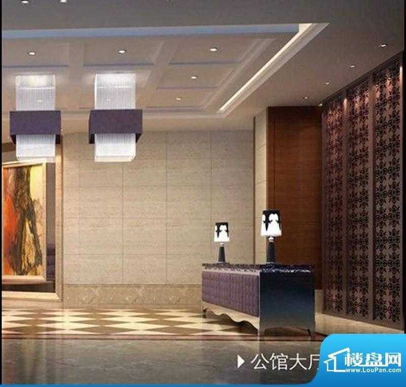 华旭·财富中心公馆大厅