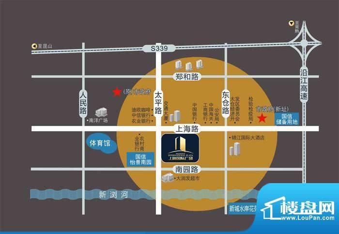 上海国际广场交通图