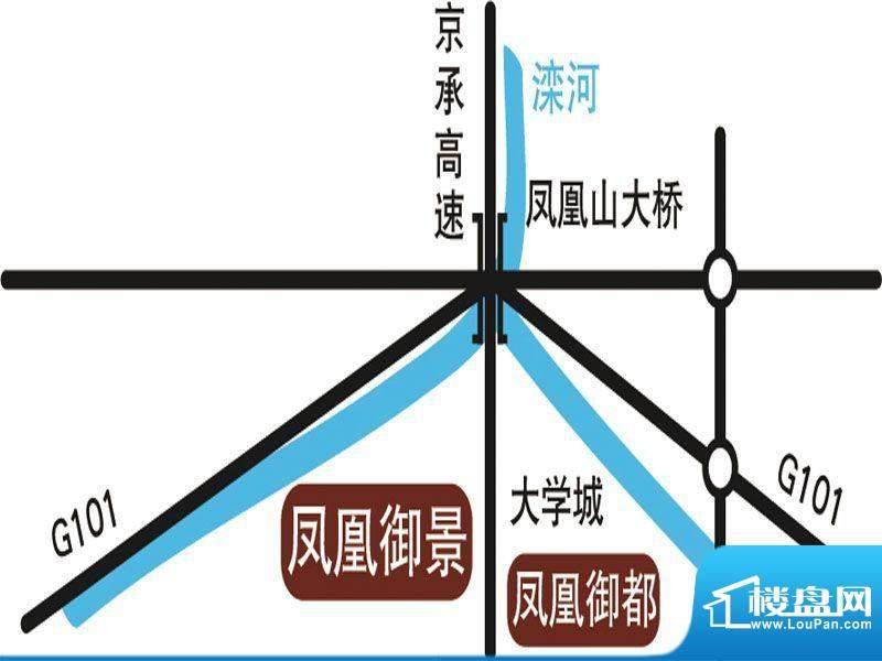 凤凰御景交通图