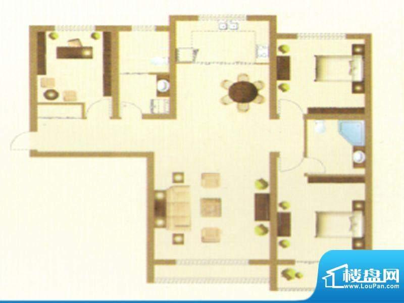 御龙瀚府16号楼C户型面积:0.00m平米