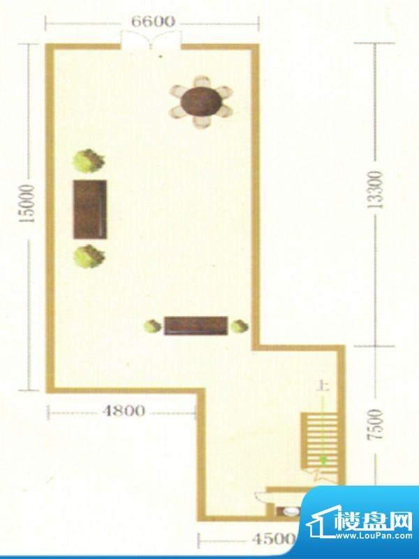 御龙瀚府商铺一层户面积:0.00m平米