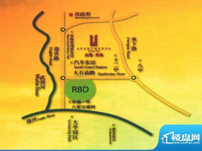 武阳秀美交通图