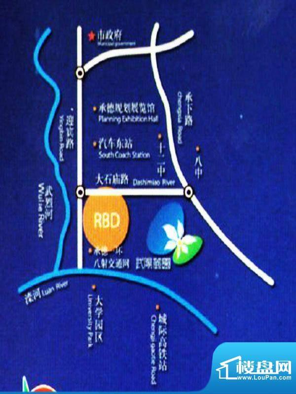 武阳丽园交通图