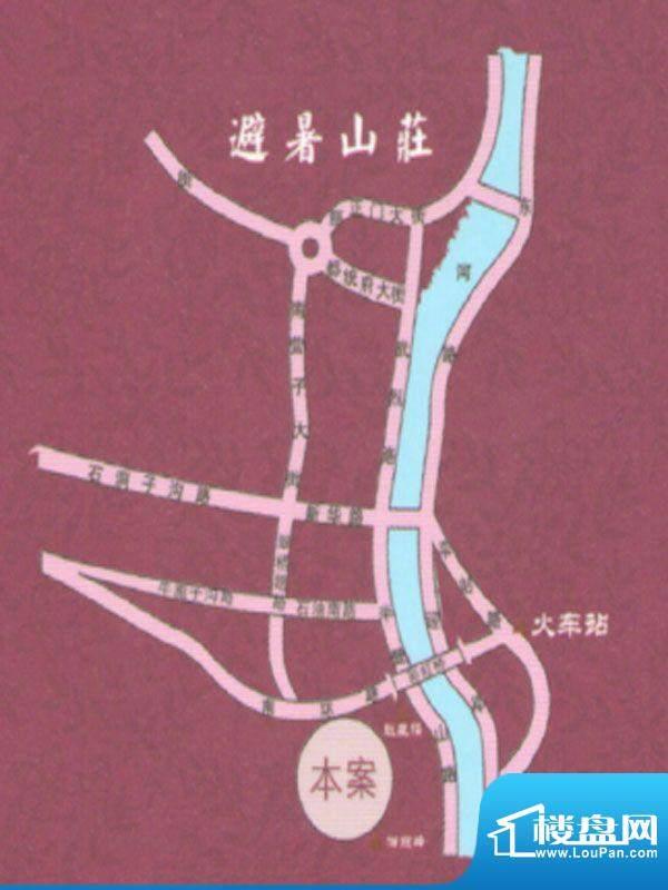 紫塞桃园交通图