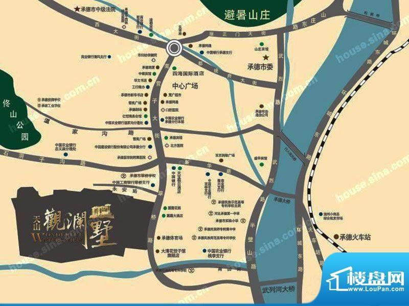 天山·天玺交通图