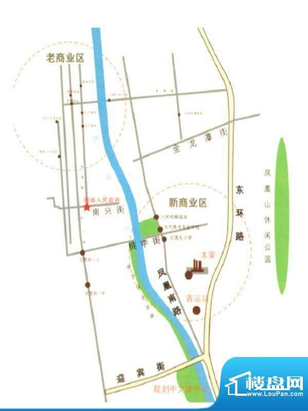 伊水华庭交通图