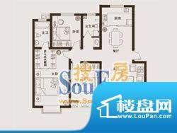 上海城户型5/6: 3室面积:0.00m平米
