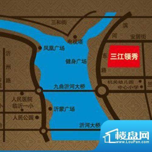 翔宇·三江领秀交通图