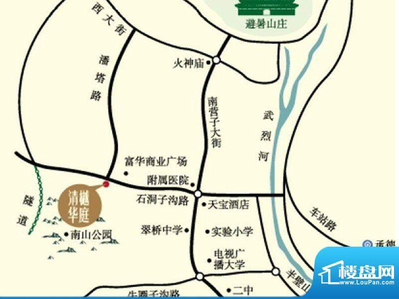 清樾华庭交通图