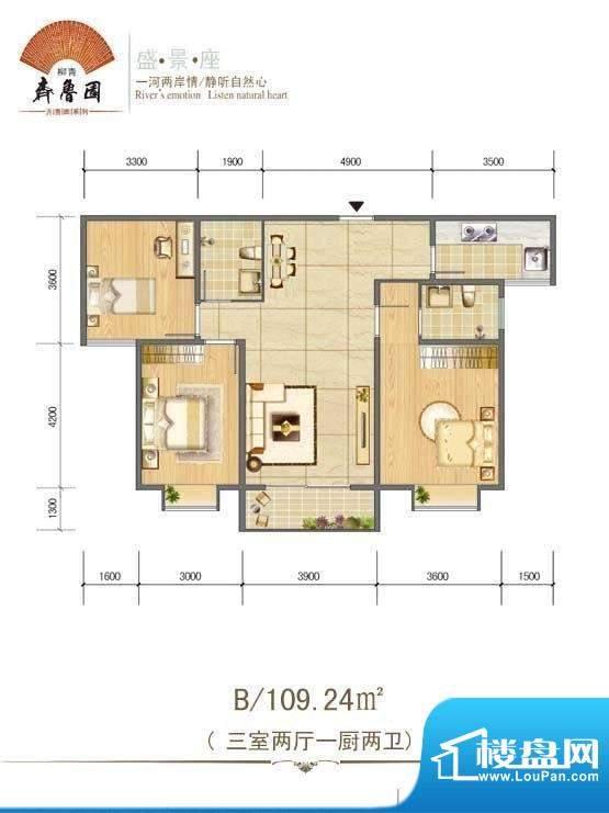 柳青齐鲁园3 面积:0.00m平米