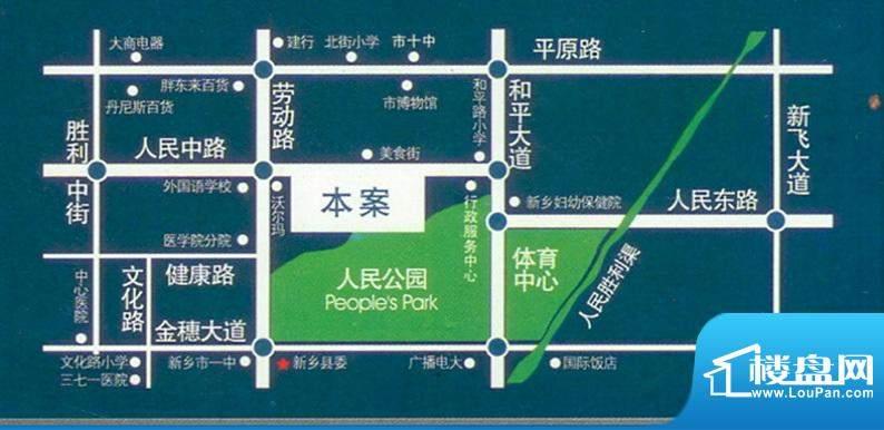 润华翡翠城交通图